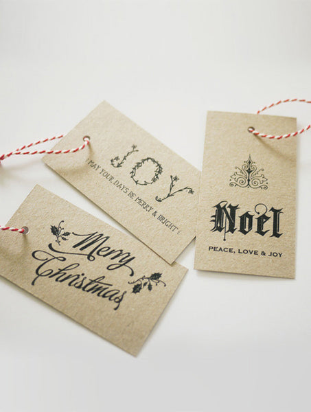 Christmas Gift Tags 01 - Free Download