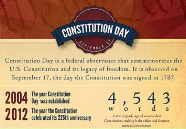 Happy Constitution and Citizenship Day!