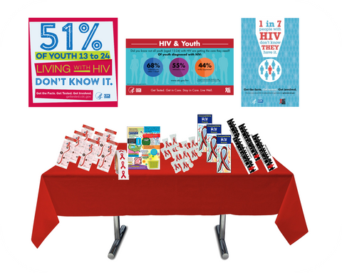 HIV/AIDS Awareness & Prevention Box