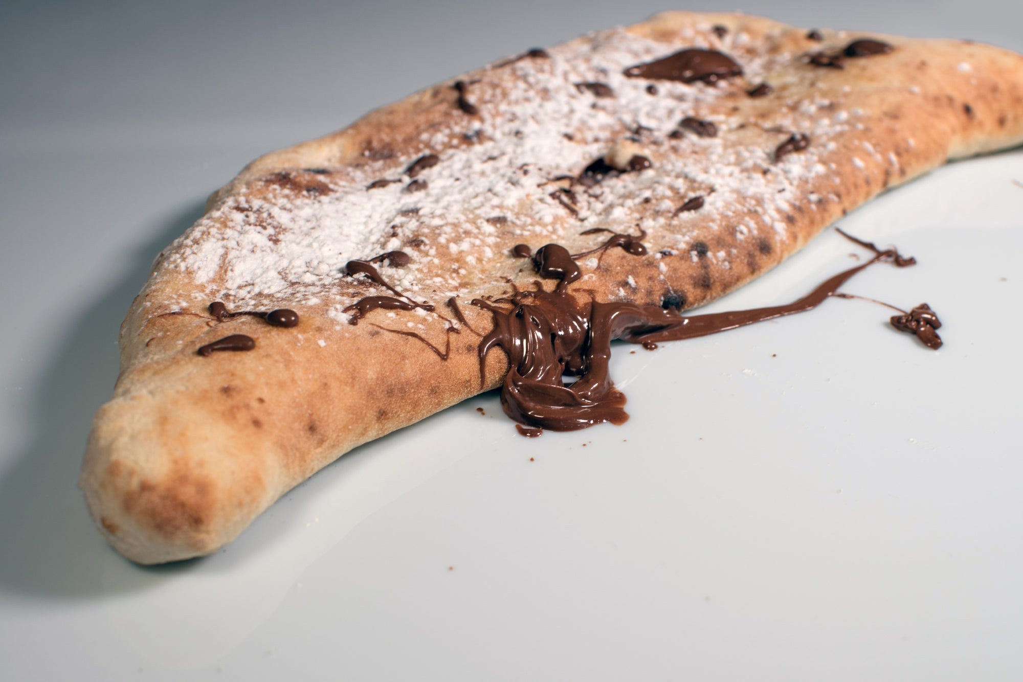 Hazelnut cream and Truffle pizza