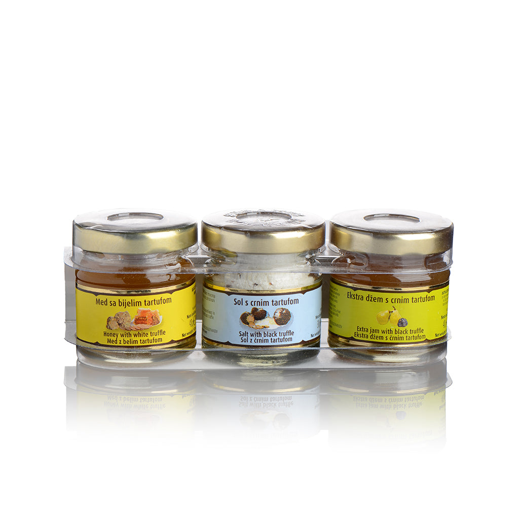 Mini collections Mini collection Sweet&Salt - Zigante Tartufi Online Shop, Truffle Shop, Truffle Products