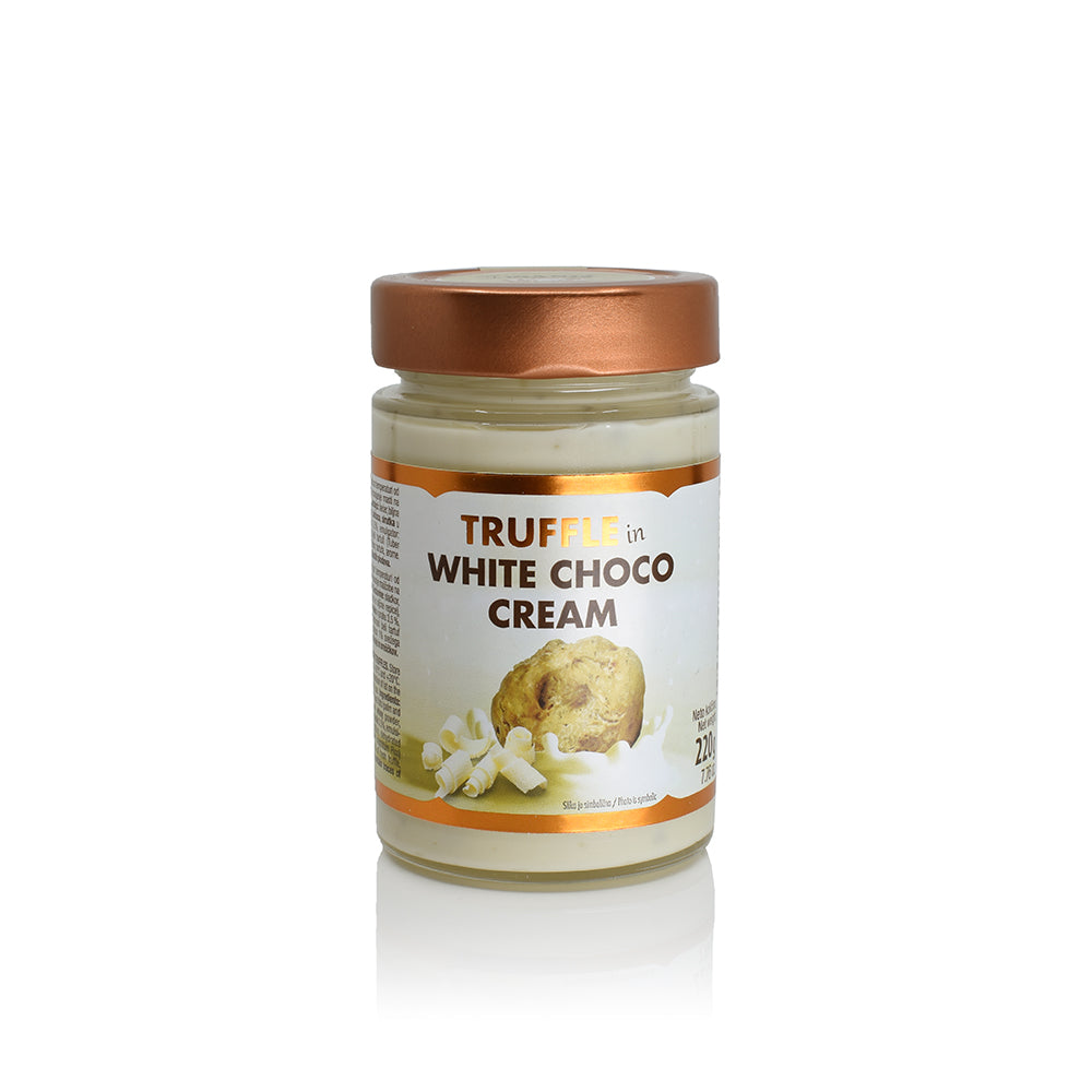 Specialties with Truffles Truffle (in) White Choco cream - Zigante Tartufi Online Shop, Truffle Shop, Truffle Products
