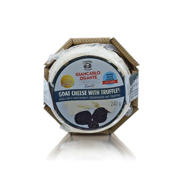 New arrivals Goat cheese with truffles (Selling season: Spring - Summer) - Zigante Tartufi Online Shop, Truffle Shop, Truffle Products