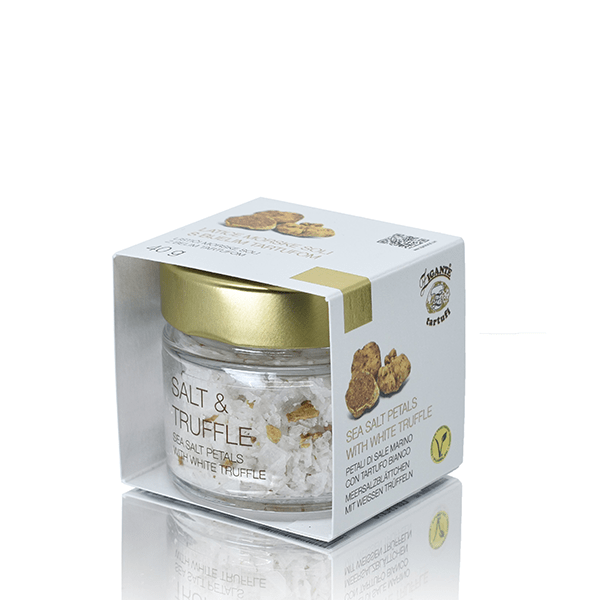 New arrivals Sea salt petals with White truffle - Zigante Tartufi Online Shop, Truffle Shop, Truffle Products
