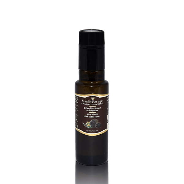 Olive oils Olive oil with Black truffle flavour - Zigante Tartufi Online Shop, Truffle Shop, Truffle Products
