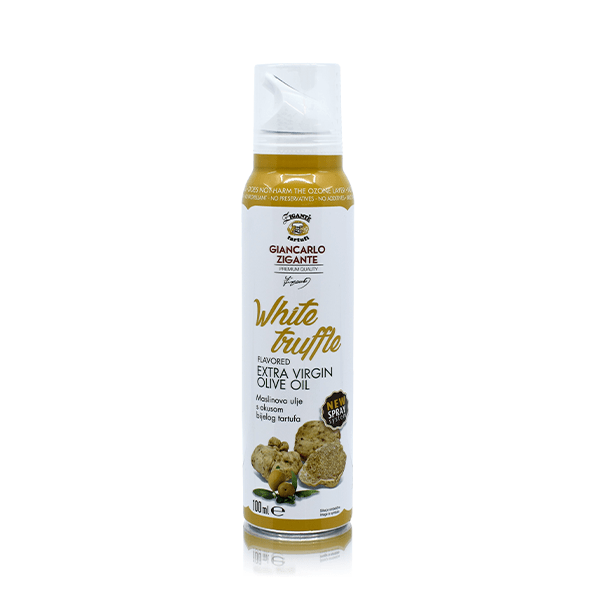 Olive oils White Truffle Spray- NEW 3/1 spray system - Zigante Tartufi Online Shop, Truffle Shop, Truffle Products