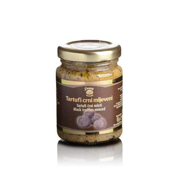 Preserved truffles Black truffles | Minced - Zigante Tartufi Online Shop, Truffle Shop, Truffle Products