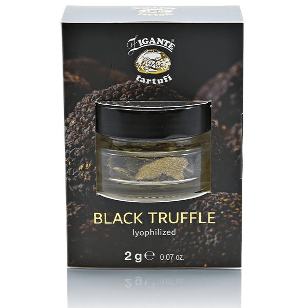 Preserved truffles BLACK TRUFFLE lyophilized - Zigante Tartufi Online Shop, Truffle Shop, Truffle Products