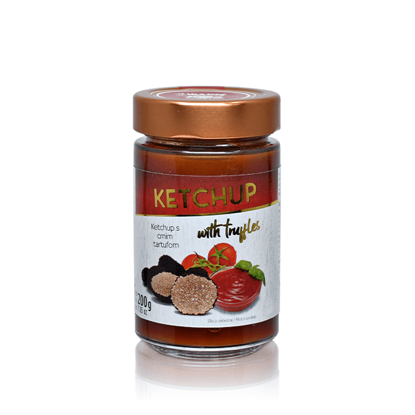 Sauces with Truffles Truffle (in) Ketchup - Zigante Tartufi Online Shop, Truffle Shop, Truffle Products