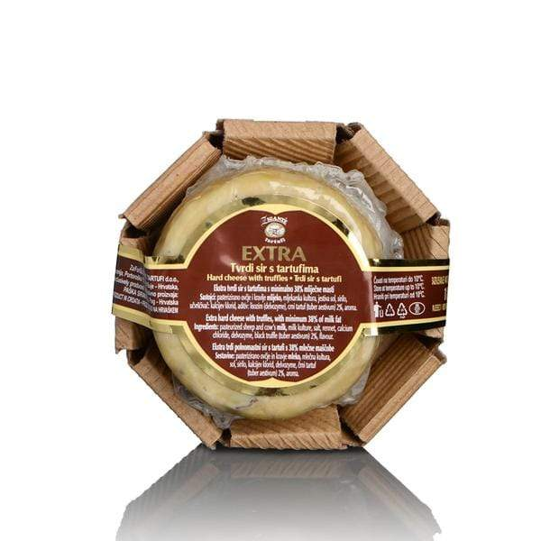 Specialties with Truffles Hard cheese with truffles - Zigante Tartufi Online Shop, Truffle Shop, Truffle Products