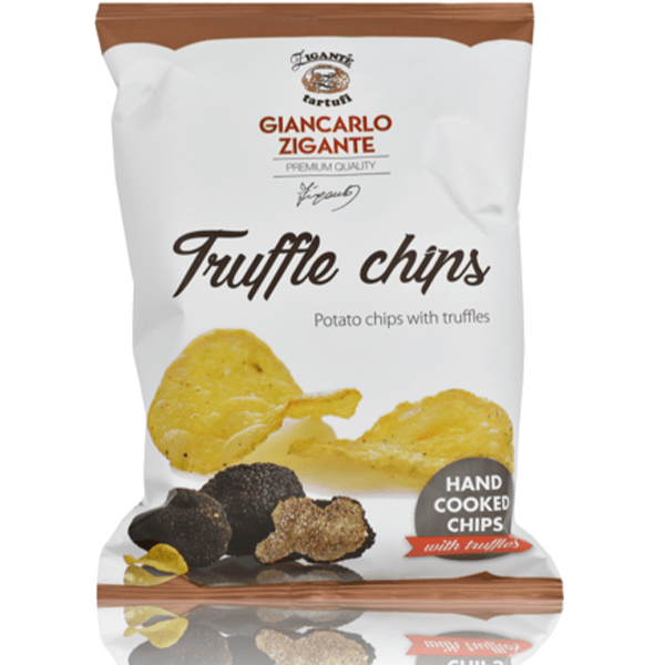 Specialties with Truffles Truffle Chips - Zigante Tartufi Online Shop, Truffle Shop, Truffle Products