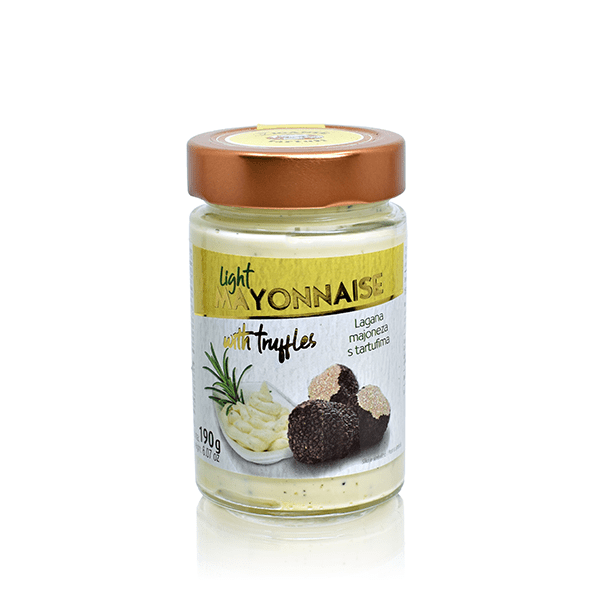Specialties with Truffles Truffle (in) light Mayonnaise - Zigante Tartufi Online Shop, Truffle Shop, Truffle Products