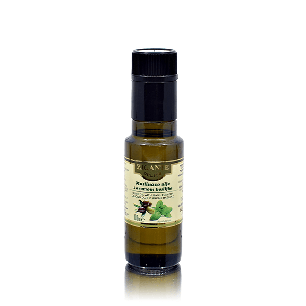 Olive Oil & Basil flavour 100ml