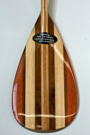Zijie Wooden Outrigger paddle
