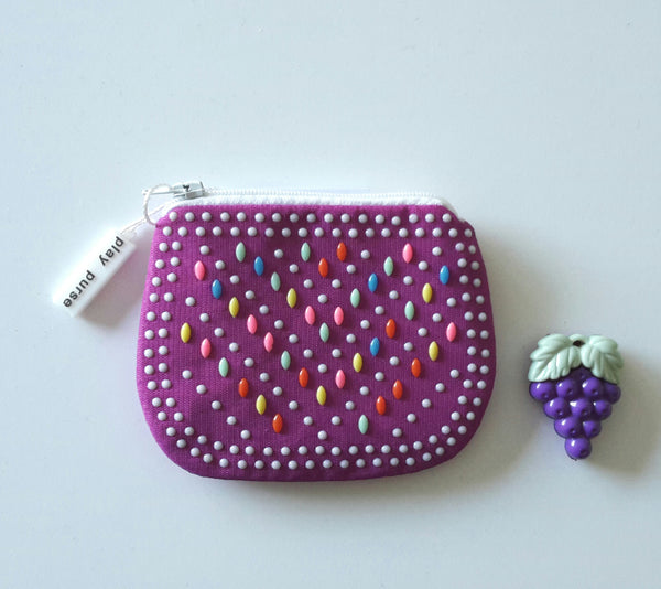 play purse - small purple