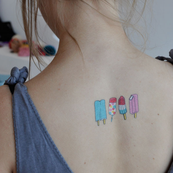 tattoo popsicles