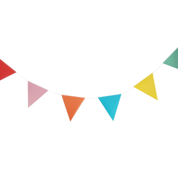 paper bunting - multicolor
