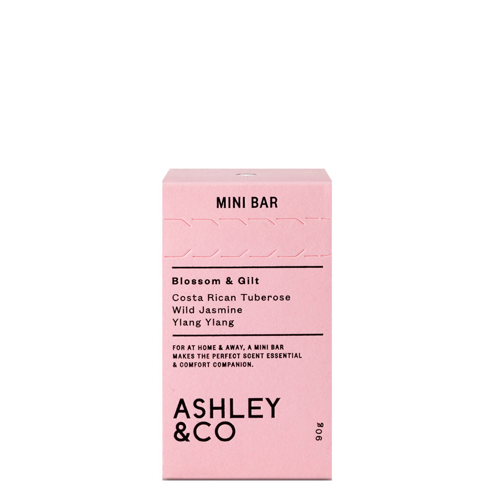 Mini Bar Blossom & Gilt - ASHLEY & CO