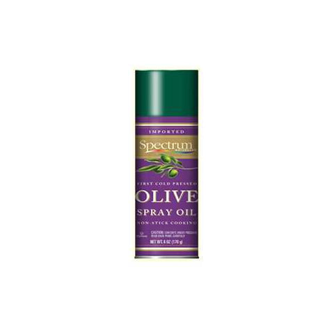Spectrum Naturals Extra Virgin Olive Oil Spray ( 6x6 Oz) - Zymotic