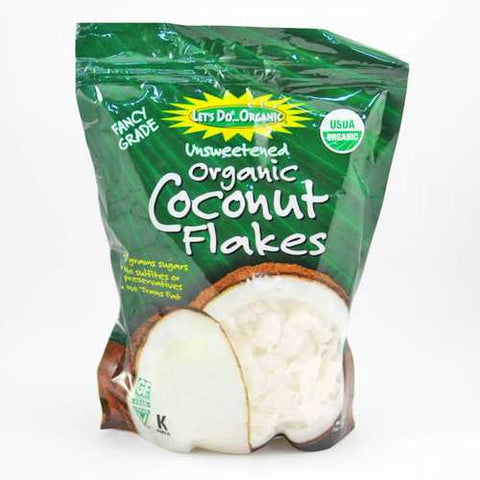 Let's Do...Organics Coconut Flakes ( 12x7 Oz) - Zymotic