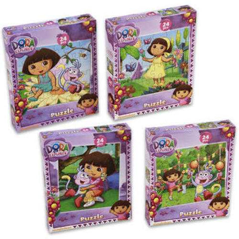 Case of [72] 24 Piece Dora The Explorer Puzzle - Zymotic