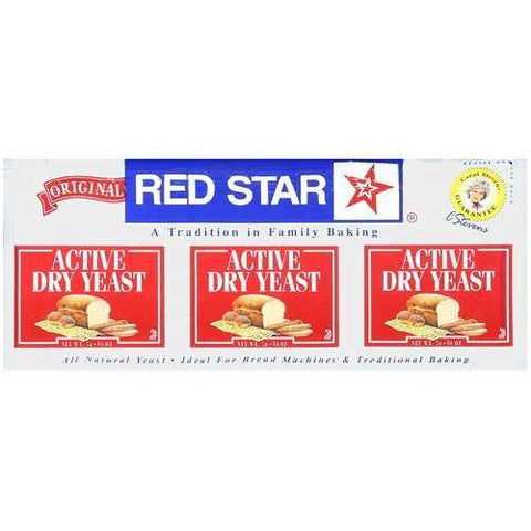 Red Star Nutional Yeast Baking Yeast Packet Display ( 18x.75 Oz) - Zymotic