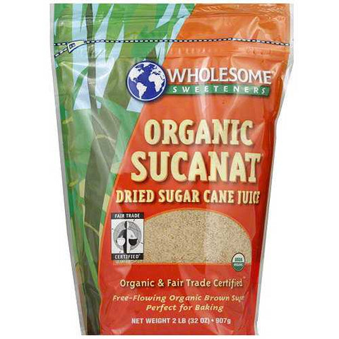 Wholesome Sweetners Sucanat ( 12x1 LB) - Zymotic