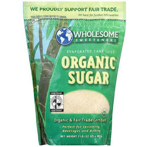 Wholesome Sweeteners Milled Unrefined Sugar (12x2 LB) - Zymotic