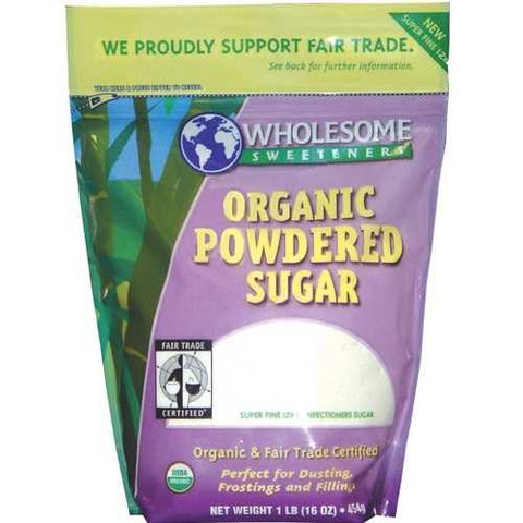 Wholesome Sweetners Powdered Sugar ( 6x1 LB) - Zymotic