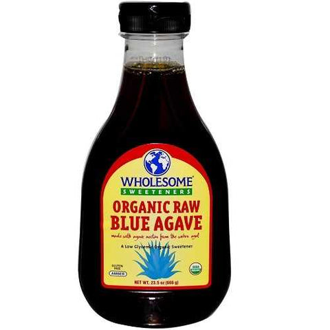 Wholesome Sweetners Blue Agave Raw ( 6x23.5 Oz) - Zymotic