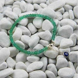 Handmade Green Garnet Beads Stacking Bracelet - Zymotic