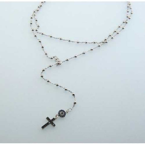 Handmade Evil Eye Protection Cross Necklace - Zymotic