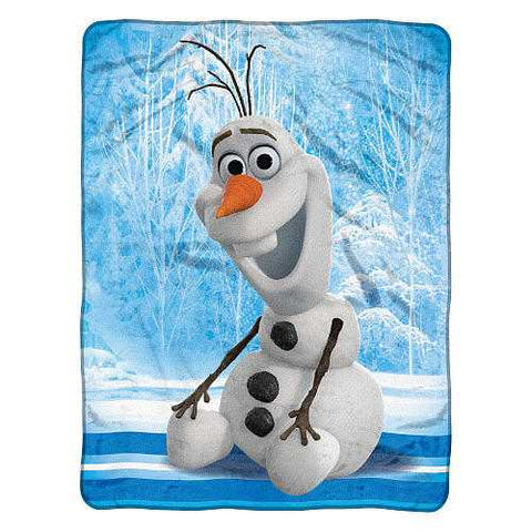 Frozen Disney Blanket 46x60 Micro Fleece Chills & Thrills Special Order - Zymotic