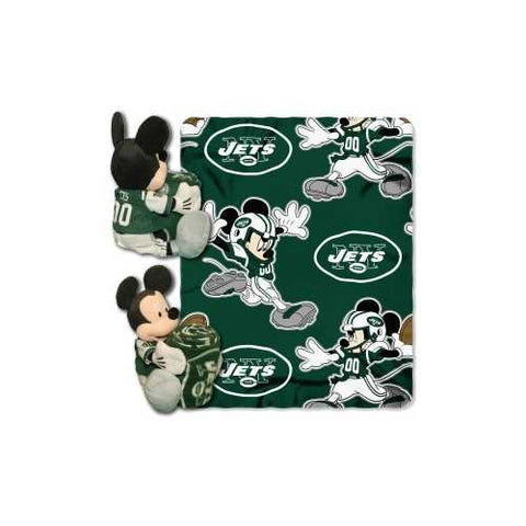 New York Jets Blanket Disney Hugger - Zymotic