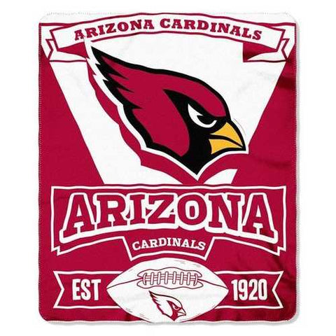 Arizona Cardinals Blanket 50x60 Fleece Marque Design - Zymotic