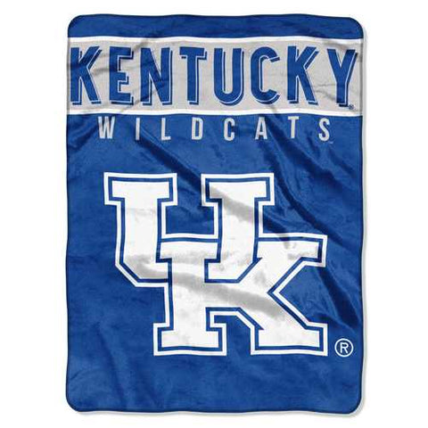Kentucky Wildcats Blanket 60x80 Raschel Basic Design - Zymotic