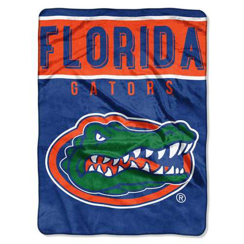 Florida Gators Blanket 60x80 Raschel Basic Design - Zymotic
