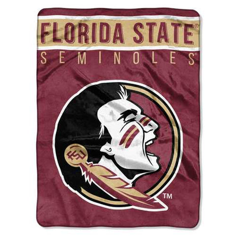 Florida State Seminoles Blanket 60x80 Raschel Basic Design - Zymotic