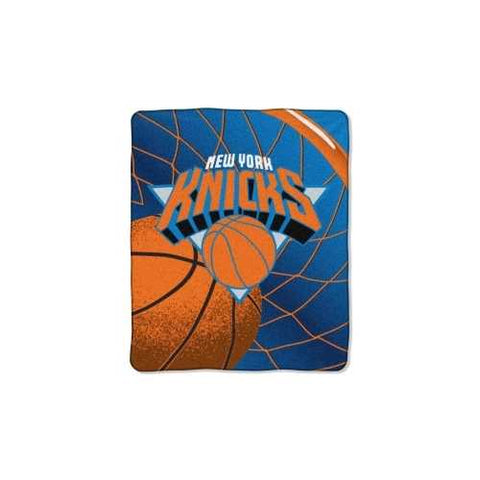 New York Knicks Blanket 50x60 Raschel Reflect Design - Zymotic