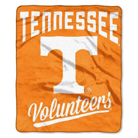 Tennessee Volunteers Blanket 50x60 Raschel Alumni Design - Zymotic