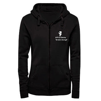 Zymotic Republic ` E.P.I.C. Series Array of Spectrum Woman Hoodie (Black) - Zymotic