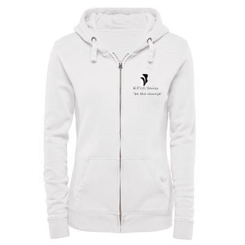 Zymotic Republic ` E.P.I.C. Series Array of Spectrum Woman Hoodie (White) - Zymotic