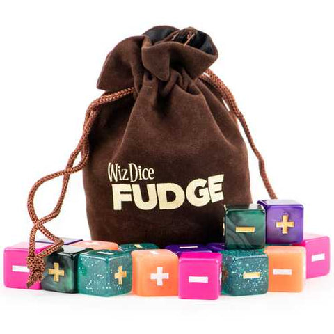 Fudge Dice GM Starter Set, Mystical - Zymotic