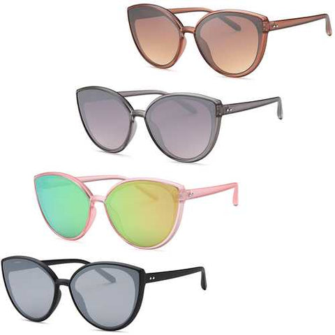 Modern Cat Eye Sunglasses (4 Pack) - Zymotic