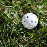 24 Polyurethane White Plastic Golf Balls - Zymotic