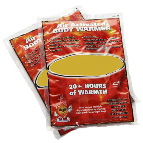 Instant Body Warmers - Zymotic