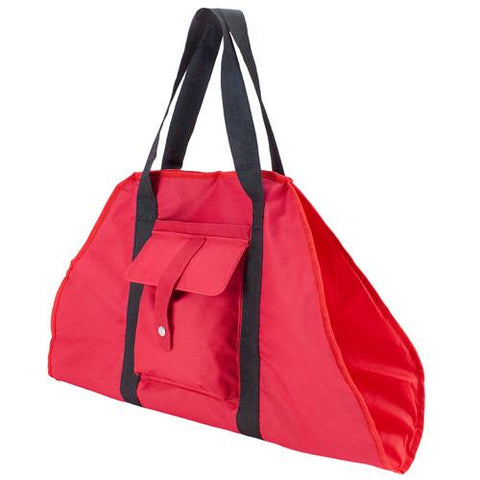 Red Yoga Mat Cargo Carrier with Adjustable Straps - Zymotic