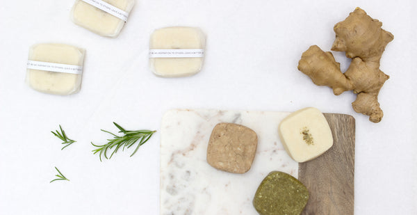 Introducing three new zero waste shampoo bars