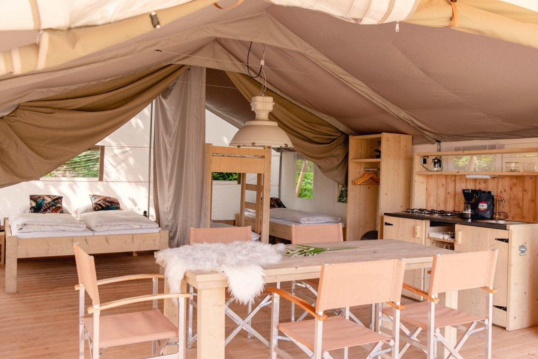 glamping in the netherlands