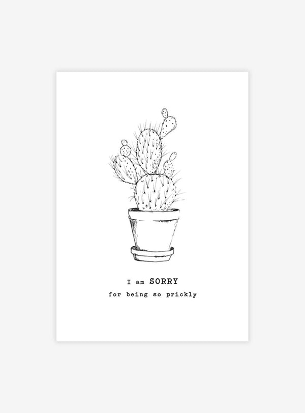 a beautiful story Stationery Cactus - postcard